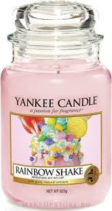 Yankee Candle Rainbow Shake - <b>Свеча</b> в стеклянной банке ...