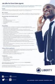 liberty life linkedin vacancy direct s agents liberty life presents an exciting career opportunity for passionate professional and driven individuals who are
