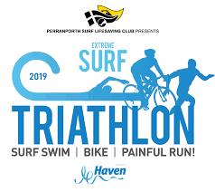 Perranporth <b>Extreme Surf</b> Triathlon 2019    Perranporth Triathlon