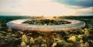 steve jobs apple ceo presented the cupertino city council with plans for their new apple new office design