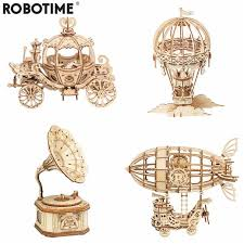 <b>Robotime</b> Rolife <b>Nanci III</b> Blind Box Action Unboxing <b>Toys</b> Figure ...
