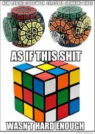 New Circular Rubik's Cube | WeKnowMemes via Relatably.com