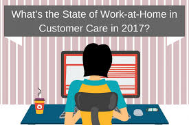 article what s the state of work at home in customer care in  of work at home agents in recent years and offers some insight as to why clients are now asking outsourcers about their work at home programs