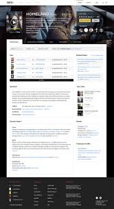 fantastic redesign concepts for imdb redesigning imdb by reacutemi fayolle and gilles bertaux