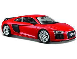 Купить <b>машина Maisto</b> Audi R8 V10 Plus 1:24, красная, цены в ...