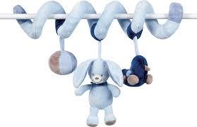 <b>Игрушка мягкая Nattou</b> Toy spiral Alex & Bibou Кролик 321204 ...
