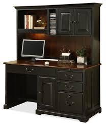 riverside bridgeport 58 inch computer desk hutch amaazing riverside home office