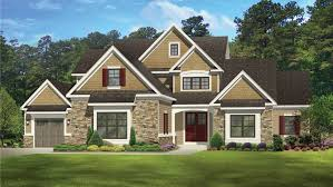 New American Home Plans   New American Home Designs from HomePlans com Bedroom New American Home Plan HOMEPW