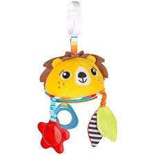 <b>Подвесная игрушка BenBat Лев</b> On-the-Go Toys - Акушерство.Ru