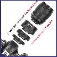 <b>12mm 20mm 36mm Manual</b> Focus N-AF Macro Extension Tube Set ...