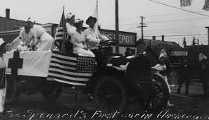 spenard joseph a joe alaska history another view of joseph joe spenard driving in a parade this time touting