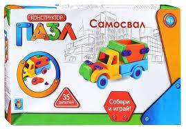 Купить <b>Конструктор 1 TOY</b> Пазл Т59946 Самосвал по низкой ...