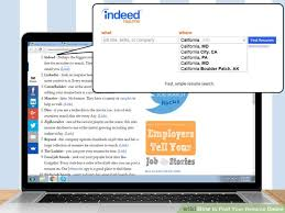 how to post your resume online   steps    pictures image titled post your resume online step