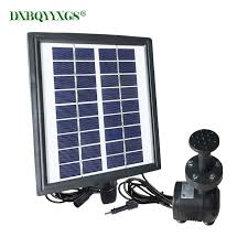 <b>Solar plus battery landscape</b> Fountain device brushless Water Pump ...