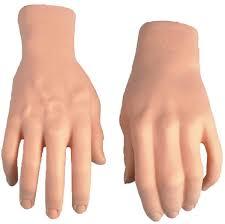Image result for hand; dapper cadaver dummy; images