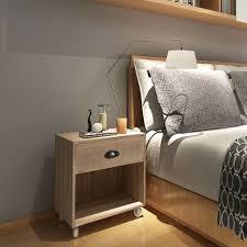 vidaXL <b>Nightstand Brown Solid</b> Wood– House of Isabella AU