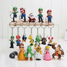 <b>2019 Super</b> Mario Keychain Bros Luigi Action Figures <b>New Arrival</b> ...