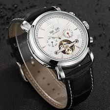 <b>Men</b> Mechanical Watch <b>Business</b> Skeleton <b>Tourbillon</b> Automatic ...