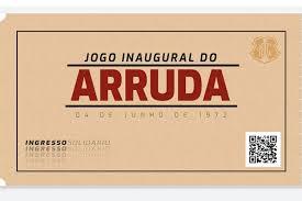 Em jogo virtual, Santa Cruz revive inauguração do Arruda por funcionários e combate à Covid-19