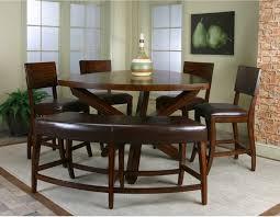 cramco shiraz 6 piece counter height dining set with bench using counter height dining bench attractive high dining sets