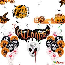 【COD】 <b>Halloween</b> balloon <b>spoof</b> tidy party decoration aluminum film