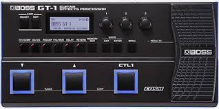 GT-1 | Гитарный процессор эффектов - BOSS