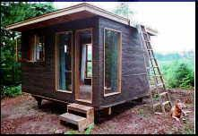Planscottage cabin small house plan