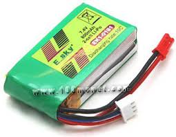 <b>Аккумулятор</b> 7.4V 800mAh 2S 10C (<b>E</b>-<b>Sky</b>, <b>EK1</b>-<b>0181</b>) – купить по ...