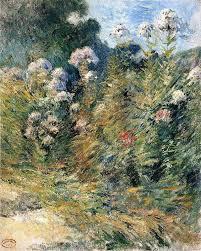 <b>Flower Garden</b> - Джон Генри Твахтман (Tуоктмен)