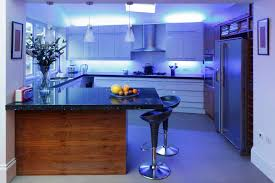 3 pendant lamps over island and under cabinet lighting also blue led strip light for kitchen light fixture amazing 3 kitchen lighting