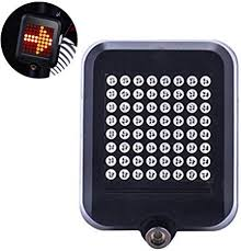 Teepao <b>Fully Intelligent Steering</b> Brake Tail Light,Led Bike Light ...
