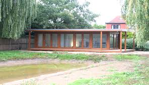 the advantages of the flyover roofs are big garden office ian