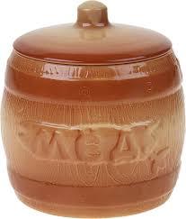 "<b>Набор банок</b> для хранения Борисовская <b>керамика</b> ""Мед+Сахар ..."