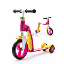 Купить <b>Scoot&Ride Highway Baby</b> Plus Yellow-Pink по низкой ...