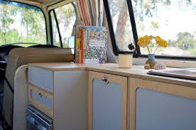 VW Kombi vans: <b>New retro</b> flat-pack <b>DIY</b> interior kits - The Interiors ...