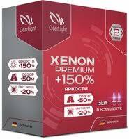 «<b>Лампа автомобильная</b> ксеноновая <b>Clearlight</b> Xenon Premium + ...