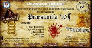 praestantia symposium ece sep sri sairam institute event search
