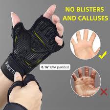 Men Grip <b>Silicone</b> Printed Hardwearing <b>Microfiber</b> Fitness Gloves ...
