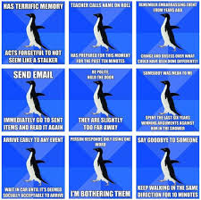 Socially awkward penguin and I have a little too much in common ... via Relatably.com