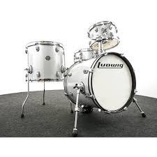 Ludwig Questlove <b>Breakbeat</b> Drum Kit, <b>White</b> Sparkle   Graham ...