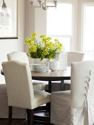 dining table parson chairs interior: henry walker crestpointe model home interior design by alice lane home collection dining