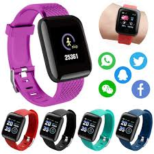 <b>116 Plus</b> Smart Watch Sports Fitness <b>Wristband</b> Health Monitoring ...