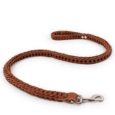 Online Shop <b>Dog</b> Leads <b>Cowhide</b> Weave Traction Rope Large <b>Dog</b> ...