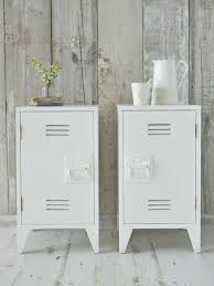 ideas bedside tables pinterest night: industrial bedside cabinets white from nordic house idea para pintar el archivero mas