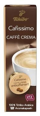 Купить Кофе в капсулах <b>Tchibo Caffe Crema</b> Entkoffeiniert (10 капс ...