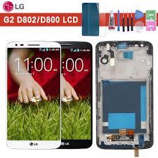 <b>Original 5.2</b> '' LCD for <b>LG</b> G2 D802 Display Touch Screen Digitizer ...