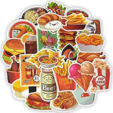50PCS Super Cool Hamburger Pizza Food and Frink ... - Amazon.com