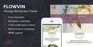 FlowVin - <b>Vintage Flower</b> Shop WordPress Theme by awethemes ...