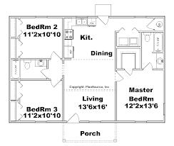 House plan J small house plan J