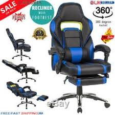 LANGRIA <b>Executive Racing</b> Gaming <b>Office Chair</b> Gas Lift Swivel ...